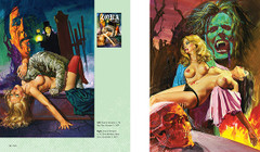 Sex and Horror: The Art of Emanuele Taglietti. Zora la Vampira. Published by Korero Press
