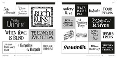 Custom Lettering of the '20s and '30s by Rian Hughes – Thick/Thin Serif