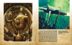 Steampunk: Piscis Ex Machina by Brian Despain and The Nautilus from 20'000 Leagues Under the Sea by Jules Verne.