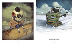 Skullface: Homie Dumpty and Evil Penguin by Johnny Crap.