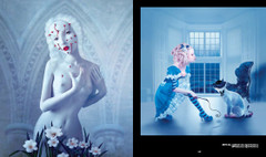 Art that Creeps: Alice and the Cheshire Cat and Atonement by Natalia Shau.