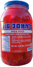 Big John's Pickled Pig's Feet - Front View