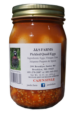 J&S Quail Farms Cajun Style Pickled Quail Eggs