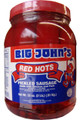 Big John's Red Hots - 1/2 gallon - front