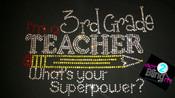 I'm a 3rd grade teacher