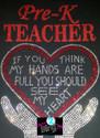 Pre-K Teacher Hands/Heart