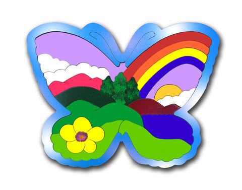 BUTTERFLY MOUNTAIN PUZZLES