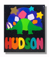 Dinosaur Personalized Name Puzzle for Kids
