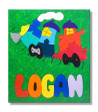 Toy Train Name Puzzle