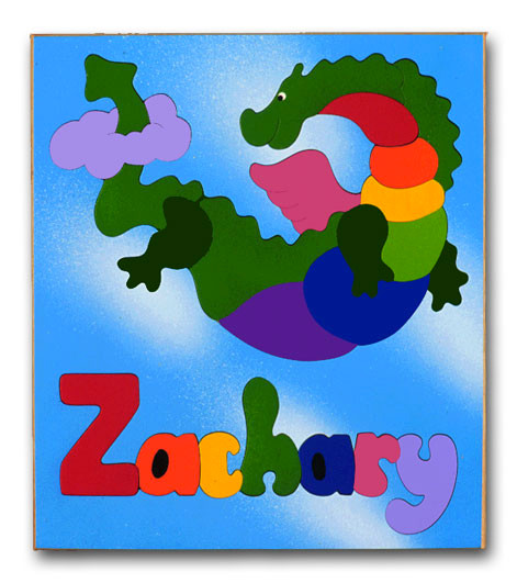 Wood Personalized Name Puzzles Feed Your Childs Imagination