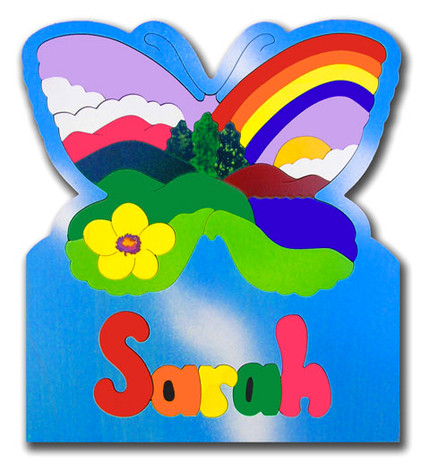 Custom Name Puzzles Children Explore Nature With This Puzzle