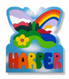Nature Scene Personalized Name Puzzle for children