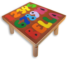 Name Puzzle Stool | Counting Numbers