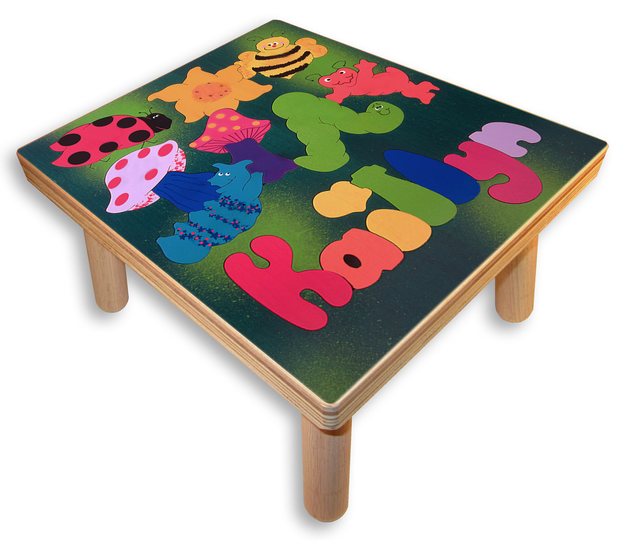 Name Puzzle Stool Bugs And Insects Step Stool