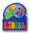 2 Layer Wooden Name Puzzle | Nautilus | Capital and lowercase letters