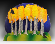 3 Layer Moonlit Aspen Grove