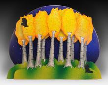 3 Layer Moonlit Aspen Grove