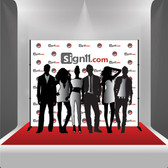 Step and Repeat, Step and Repeat Banners, Red Carpet Backdrops, Red Carpet Banners