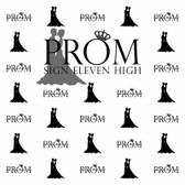 Prom Step and Repeat Backdrop 356