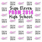 Prom Step and Repeat Backdrop 358