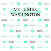 Wedding Step and Repeat Backdrop 453