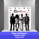 Step and Repeat Custom Size, Red Carpet Backdrops