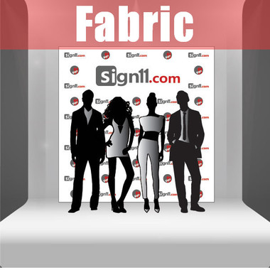 fabric step and repeat banner 8 39 x8 39. Black Bedroom Furniture Sets. Home Design Ideas