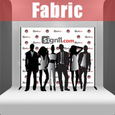 Fabric Step and Repeat Banner with stand 10'x8'