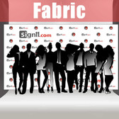 Fabric Step and Repeat Banner Backdrop 14'x8'