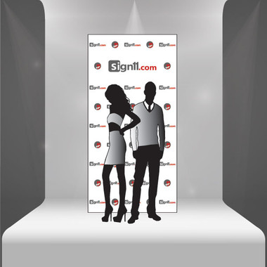 step and repeat banner 4 39 x8 39. Black Bedroom Furniture Sets. Home Design Ideas