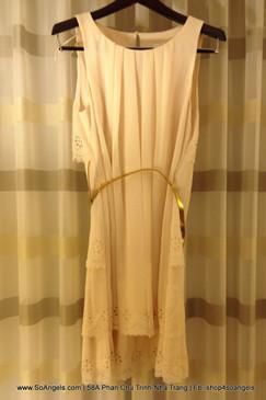 Jessica Simpson Đầm Tầng Lưng Duyên Dáng
