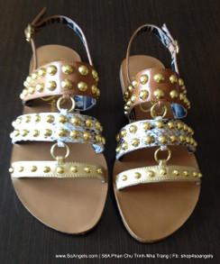 Jessica Simpson Sandals Ánh Bạc Vàng Kim Loại-35