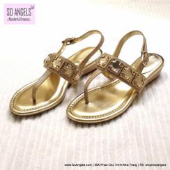 Arturo Chiang Sandals Ánh Vàng-37.5