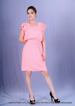 Gianni Bini Đầm Neon Hồng
