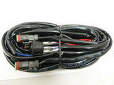 WIRING LOOM  HARNESS FOR 2 LIGHTS COMPLETE KIT (Heavy duty)