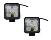 15 Watt Mini Flood Beam Square Housing LED Work Light   ** 2 PACK **