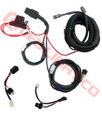 SMART WIRING LOOM  HARNESS FOR 2 LIGHTS COMPLETE KIT (Heavy duty)