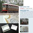 Model Tram Project