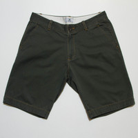 Vratim Lightweight Chino Shorts - Army Green