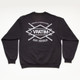 The Vratim Crest Sweatshirt - back