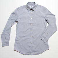 The Vraim Button-Up - Azure Blue front