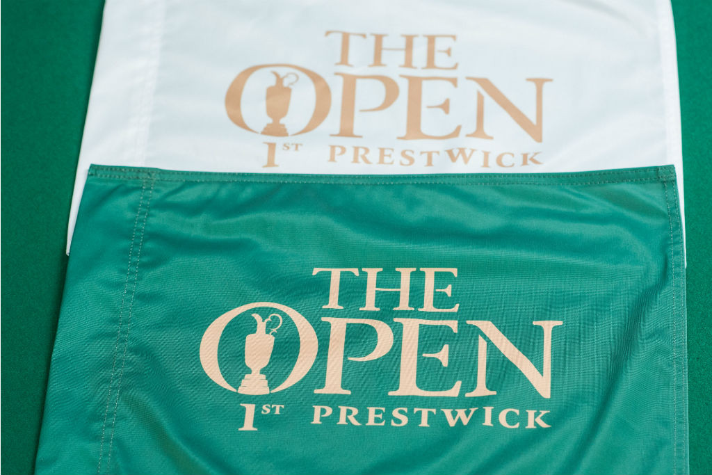 Pin Flag - 1st Open