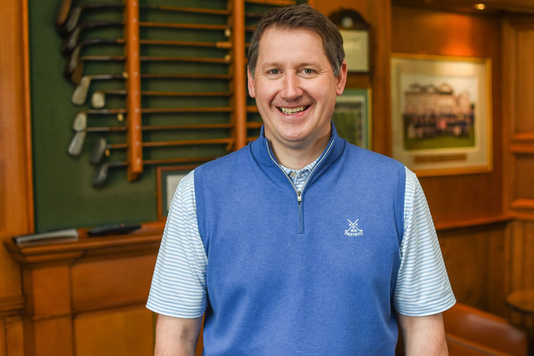Head Professional David Fleming on the golf channel's Morning Drive programme