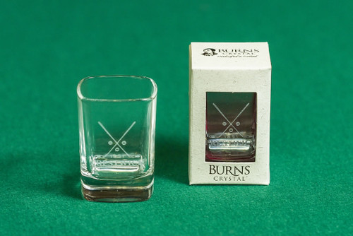 Burns Crystal Dram Glass