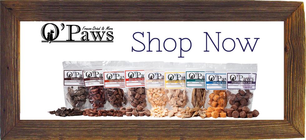 O'Paws Online Shop