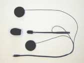 StarCom1 Helmet Kit Open Face Headset (HSEX-01 Included): SH-006
