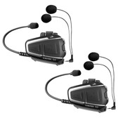 Cardo Scala Rider Q3 Multiset Motorcycle Bluetooth Headset/Intercom