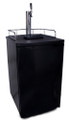 Kegerator with Single Faucet Tower, for Standard (Sanke) Commercial Couplers...See Description for Shipping Details