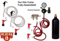 Basic Homebrew Keg Kit - 20oz CO2 - Double Tap - Pin Lock