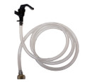 Party Faucet with 5' hose, beer nut assembly for commercial kegs